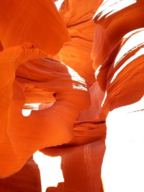 RN, Amanda M., taking in the sights at Antelope Canyon near Page, Ariz.