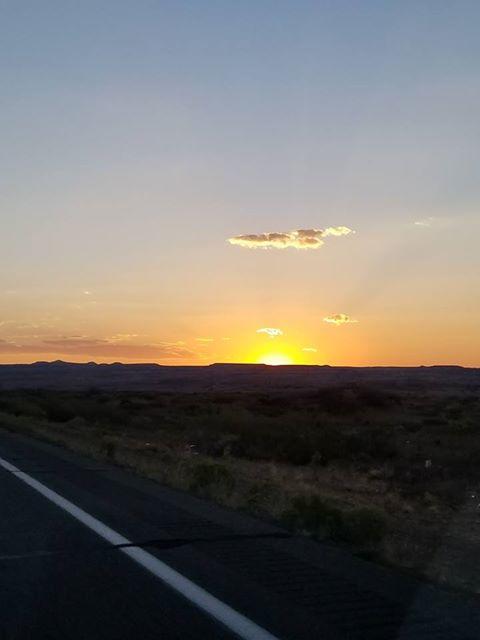RN, Amanda M., catching the sunset near Durango, Co.