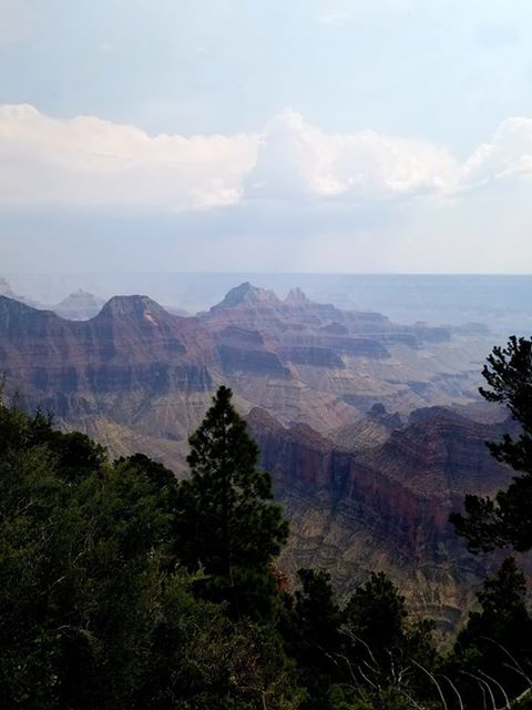 RN, Amanda M., taking in the sights at the Grand Canyon.